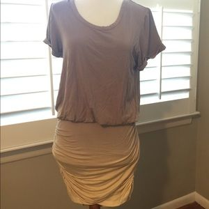 Young Fabulous & Broke ombré ruched dress Small
